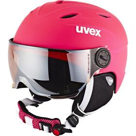 UVEX Junior Visor Pro Helm Kinderen, roze